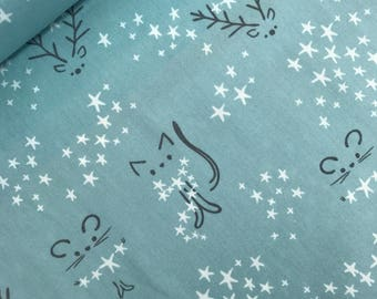 Starbright Fog from the Little Town Collection by Amy Sinibaldi for Art Gallery Fabrics, Choose the Cut, Winter Fabric