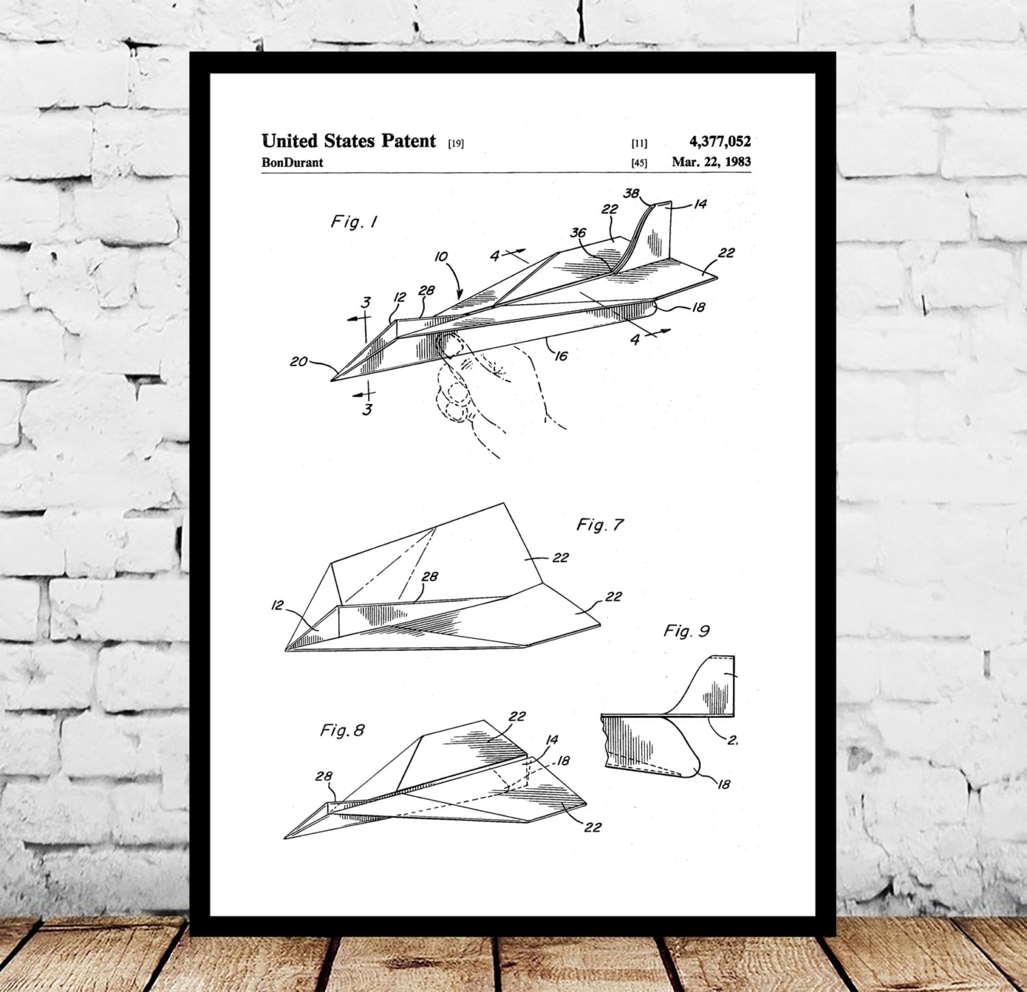 Paper airplane patent paper airplane poster paper airplane print paper airplane patent paper airplane poster paper airplane print paper airplane art paper airplane decor paper airplane blueprint malvernweather Gallery