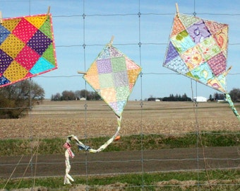 Patchwork Kite Pattern, How To, pdf