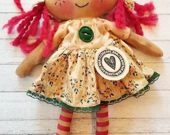 Mother's Day Sweet Annie - Primitive Raggedy Ann Dolls (HAFAIR)