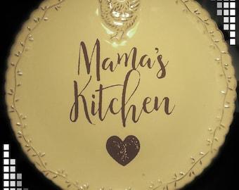 Mama's plate
