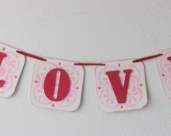 Valentines Love Banner