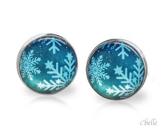 Christmas Earrings Winter-55