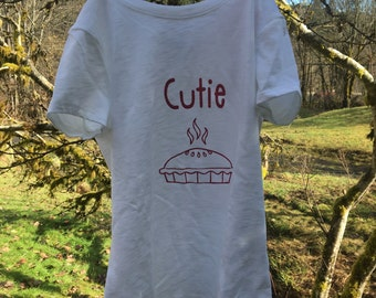 Cutie Pie Shirt/ Gift Idea/ Kids shirt/ Cute