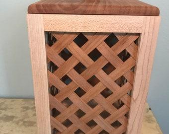 Handmade Lattice Occasional Box