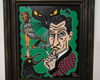 Vincent Price Tribute Frame