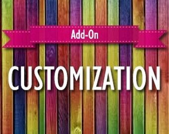 Add-on: CUSTOMIZATION