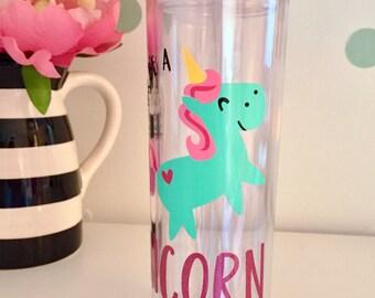Unicorn Water Bottle, Leggings Water Bottle, Always Be a Unicorn, Unicorn Hunter