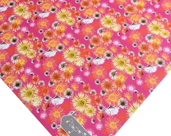 Flowers Wrapping Paper Daisy A Day Pink