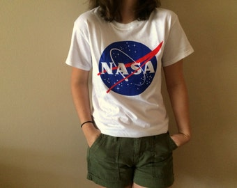 NASA Meatball Tshirt in White