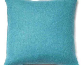 Harris Tweed ~ Harris Tweed Cushion ~ Harris Tweed Pillow ~ Teal ~ Turquoise ~ Teal Cushion ~ Cushions ~ Tweed Pillow