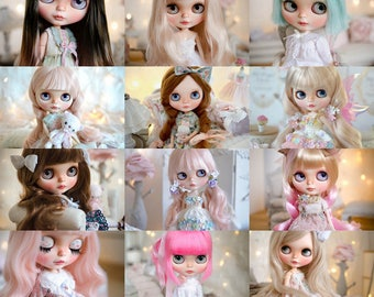 Custom Blythe Doll Service - Made to Order by Ma Poupée Chérie (Deposit fee)