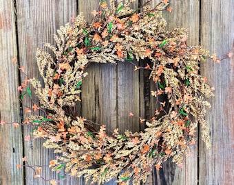 Summer Door Wreath, Front Door Wreath, Summer Wreath, Door Wreath, Wreath, Wedding Wreath, Farmhouse Wreath, Wreath For Door, Home Decor