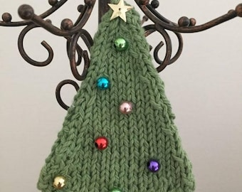 Knitted Christmas Tree Ornaments - Made to Order