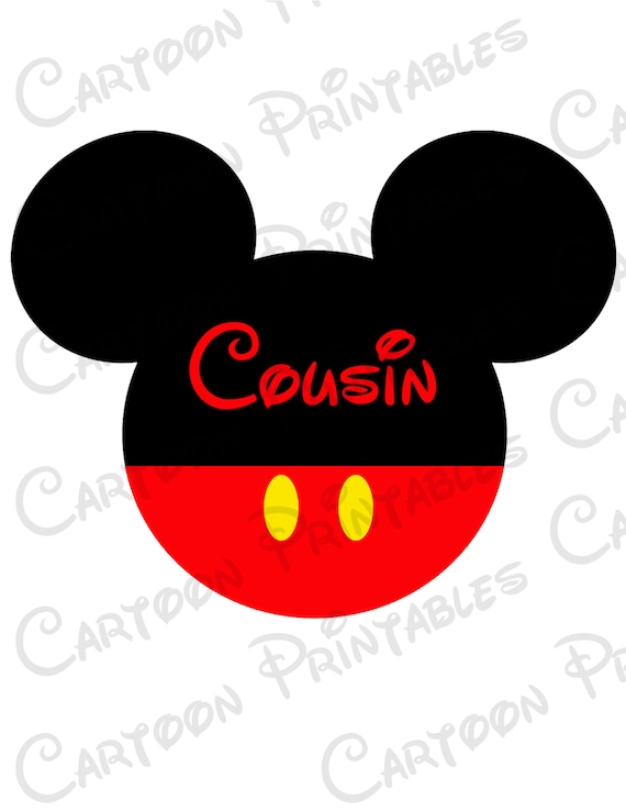 mickey mouse cousin image mouse ears printable clip art iron on rh etsystudio com mickey mouse ears outline clip art mickey mouse ears christmas clipart