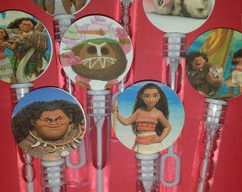 Moana Bubble Wands 12pc.