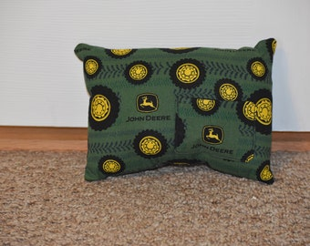 Tractor tire themed tooth pillow