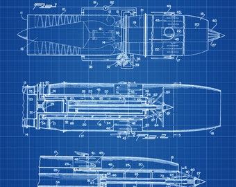 Jet engine patent etsy turbo jet engine afterburner patent airplane blueprint airplane art pilot gift malvernweather Images