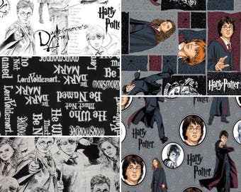 1/2 Yard Harry Potter Fabric/  Fabric By The Yard