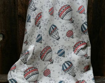 Hot Air Balloons Flannel Blanket