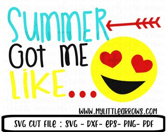 Funny summer SVG, DXF, EPS, png Files for Cutting Machines Cameo Cricut - summer svg - sun svg - end of school svg - cute toddler summer svg