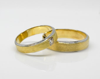 The diamond engagement ring
