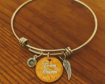 Pennies from Heaven Bangle Bracelet