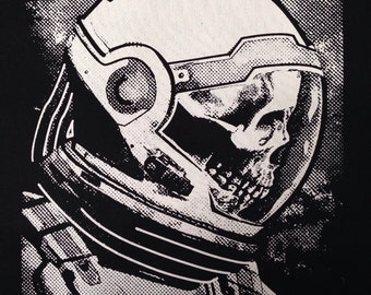 Death Space Astronaut Black Back Patch - Patches for Jackets - Patches - Punk Patches