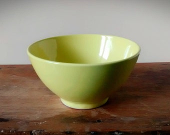 Pastel yellow bowl