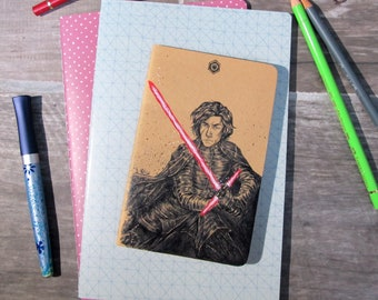 Journal - Kylo Ren inked cover