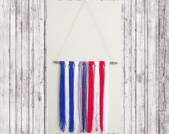 Fourth of July Home Decor, Patriotic Wall Decor, Fourth of July Decor, American Flag Decor, 4th of July Decor, Bohemian Wall Decor