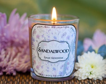 Sandalwood Votives for powerful peace and Divine connection