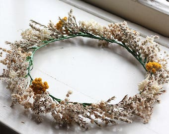Flower Crown - Dried Flowers