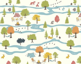 Camp Sur 3 - Campout Main by Jay-Cyn Designs from Birch Fabrics