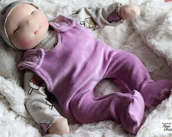 Customed baby waldorf (boy or girl) - Waldorf doll - Handmade rag doll