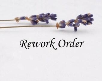 Rework or Exchange order
