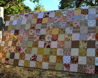 Season Of The Stitch Patchwork Quilt, Twin Size