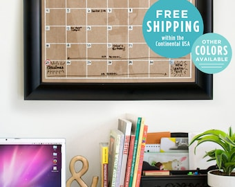 Wall Calendar - Large Calendar - Horizontal Layout - Family Calendar - Business Calendar - Home Command Center