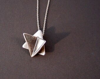 Butterfly Star of David Necklace by Ruth Shapiro