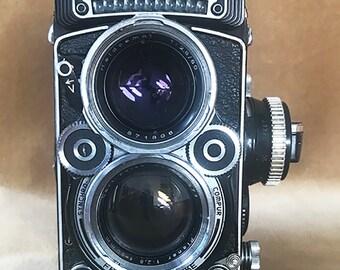 Rolleiflex 2.8 F TLR Film Camera Planar 80mm F/2.8 Lens Model K7F