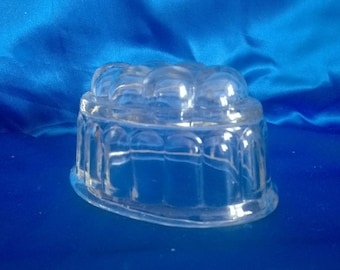 Small Glass Jelly Mold