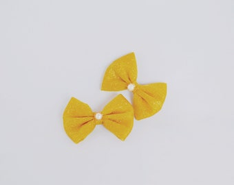 "3"" or 4"" Allie Girl (mustard Hairbow , shiny Hairbow )"