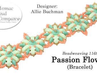 Passion Flower Bracelet (Pattern)