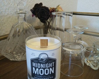 Midnight Moon Handpoured Soy Candle