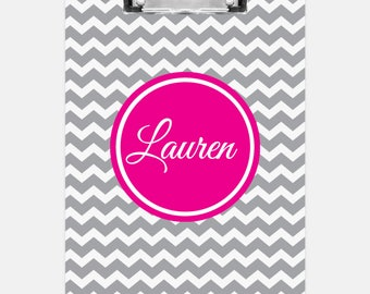 Chevron Clipboard | Personalized Clipboard | Teacher Clipboard | School Clipboard