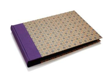 Family Album, orange purple mid century