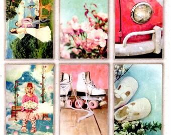 103 - 1 sheet of Images cut vintage romance