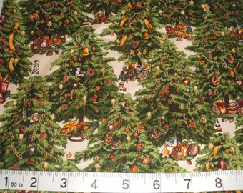 Old Fashioned Christmas Cotton Fabric Fat Quarter by RJR Fabrics
