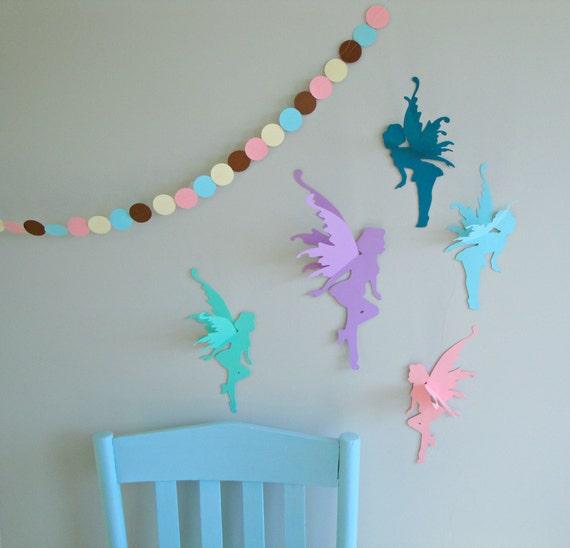 & 3D Fairy Wall Art-Wall Decals-Wall Decor