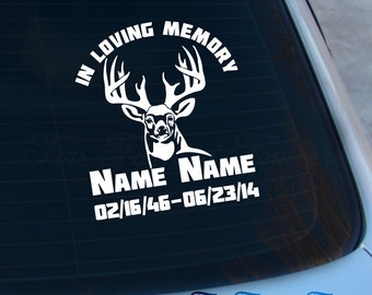 Window Decals for Cars In Memory Of Beautiful In Loving Memory Stickers In  Loving Memory Car Stickers